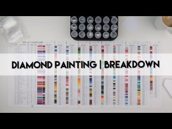 Diamond Painting - Breakdown | Non DMC Numbered Part 2