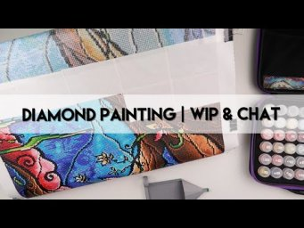 Diamond Painting - WIP & Waffle | DAC Minions & Unboxing Gift