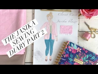 The Jasika blazer sewing diary part 2
