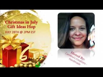 Christmas in July Gift Ideas YouTube Hop - SAVE THE DATE