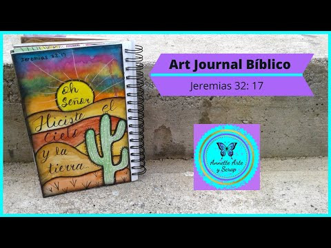 Art Journal Bíblico- Jeremias 32: 17