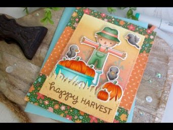 Happy Harvest | Copic Coloring | Lawn Fawn