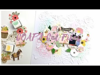 12x12 Scrapbook Process - Celebrate