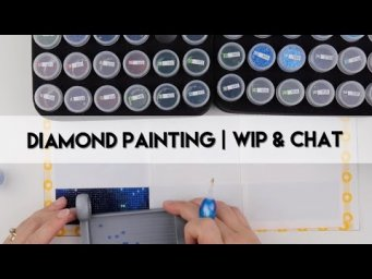 Diamond Painting - WIP & Chat | Rose