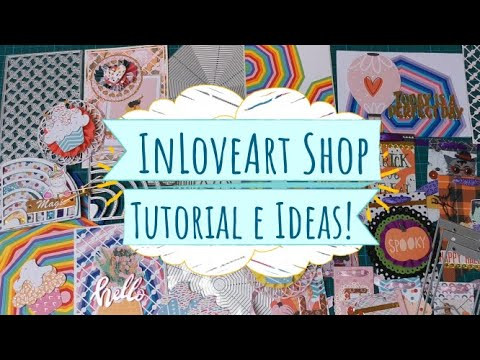 Troqueles nuevos de In Love Art Shop - Tutorial e ideas!