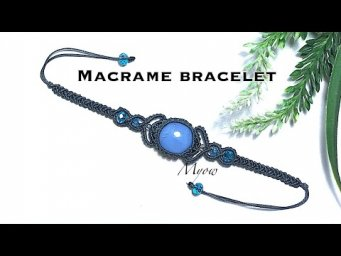 How to make bracelet with stone- Myow #80