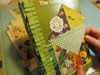 Start to Finish: Constructing a Glue Book of Your Own!   Part 1: Making the Cover
