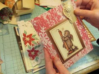 Hummel Christmas Angels Journal, Plus a Happy Mail From Tammie!