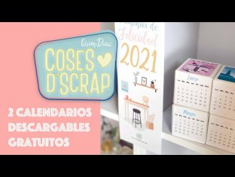 2 calendarios descargables gratuitos (de pared y sobremesa)