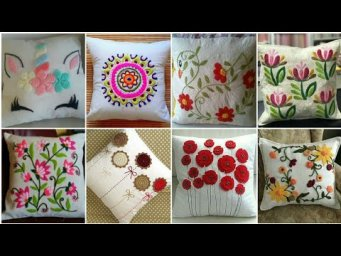Outstanding Hand Embroideried Cushion Designs Patterns / Cushion Cover design ideas 2020