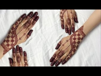 Beautiful back hand mehndi design for Eid_new henna designs 2021_back hand mehndi designs 2021