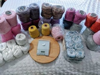 Yarn Unboxing for the first time from goceriplik