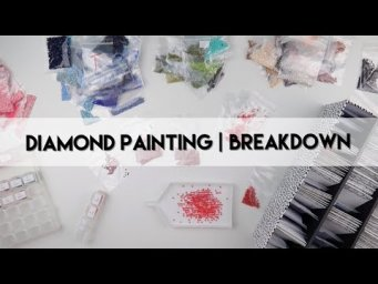 Diamond Painting - Breakdown | Non DMC Numbered Part 1