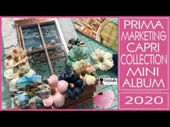 Prima Marketing Capri Collection Mini Album - Frank Garcia - 2020