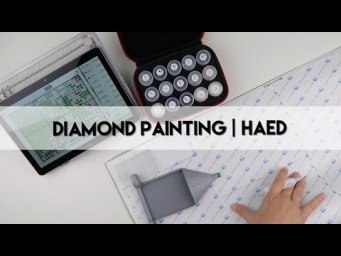 Diamond Painting - WIP & Chat | HAED 'Mini' Project Pt 1