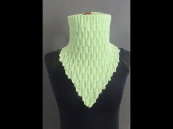 Crochet Shawl with Infinity Scarf