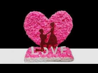 2 Valentine day Special Showpiece made for room decoration  | DIY valentine day gift ideas