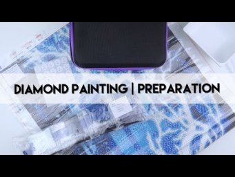 Diamond Painting - Preparation | Winter Deer