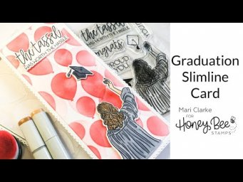 Slimline Graduation Card