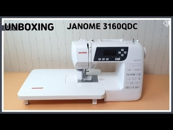 DIY JANOME 3160QDC Sewing Machine Unboxing [Tendersmile Handmade]