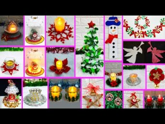 15 Economical Easy handmade Christmas craft idea |DIY low budget Christmas craft idea