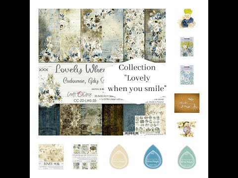 "ScrapMerveilleux Collection ""Lovely when you smile"""