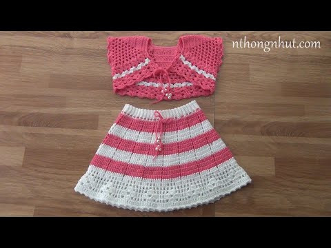 Crochet bolero tutorial