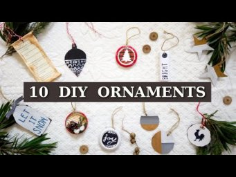10 DIY Christmas Ornaments for Minimal & Aesthetic Holiday Decor in Budget