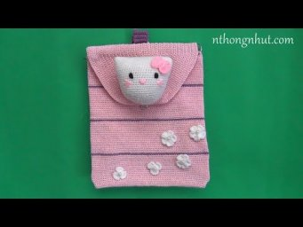 How to Crochet Kitty backpack