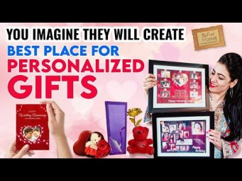 Personalized & Customize Gifts || Best Personalized Gifts  Ever || My Shopping From MyFirstFrame
