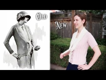 Knitting a 1920s Flapper Sweater || Historical Knitting