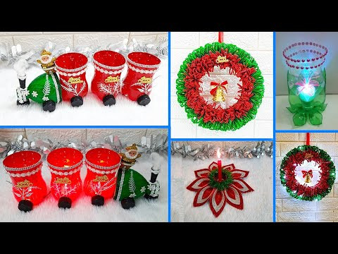 Economical 4 Easy Christmas Craft idea | Best out of waste Low budget Christmas craft idea (Part 20)