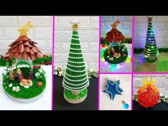 4 Economical Easy Christmas Craft idea |DIY Low budget Christmas craft idea