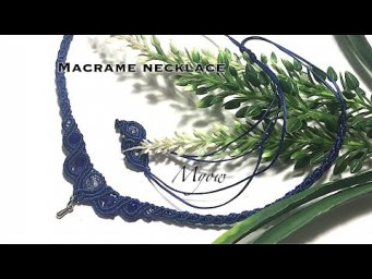 MACRAME SIMPLE NECKLACE | CHOKER | MYOW 238