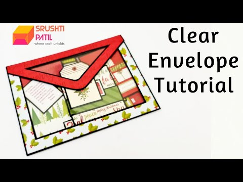 Clear Envelope Tutorial | Srushti Patil