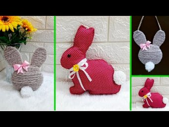 2 Economical Easter/spring craft with waste materials |DIY Low budget Easter décor idea (Part 24)