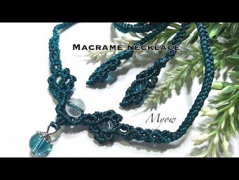 MACRAME NECKLACE - MYOW 164