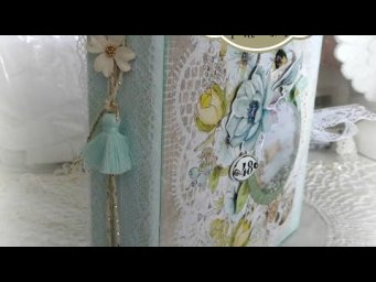 "Tuto scrap Album ""Spring Morning"" partie 3"