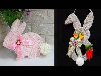 DIY 2 Easter craft made with waste materials step by step at home |DIY Low budget Easter décor ideas