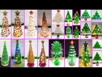 12 Easy Economical Christmas Tree making idea |DIY low budget Christmas craft idea