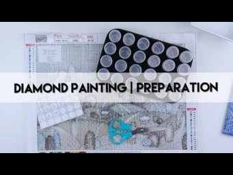Diamond Painting - Preparation | Countryside