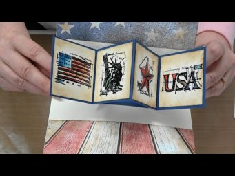 #356 Interactive Card Class featuring an easy interactive die by Art Gone Wild & Tim Holtz Stamps