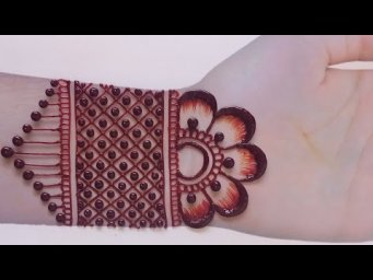 Beautiful Front Hand Mehndi Designs For Eid_New Bridel Henna MEehndi Design For Full Hands_Mehndi