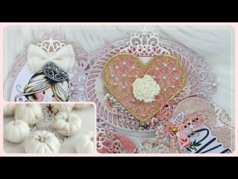 Embellishments Ideas - Valentine's Day | Embellishments for Card Making, Mini Albums and More!