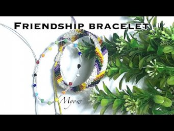 DIY SIMPLE CHEVRON FRIENDSHIP BRACELET - MYOW 131