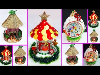 Economical 3 Christmas Craft idea with plastic bottle |Best out of waste Christmas craft idea