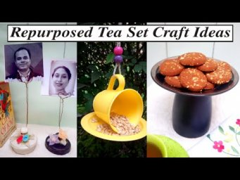 Trash to Treasure / Cozy Home Decor / Recycled Craft Ideas