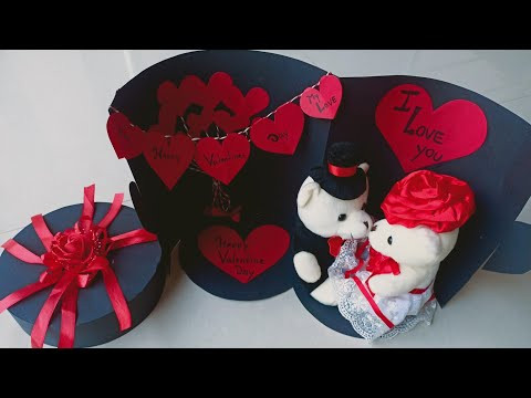 Valentine's Day Surprise Box Tutorial|| Best Valentine's Gift || Valentine's Special Gif
