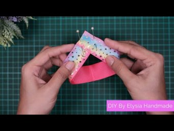 DIY Crafts - How to Make Simple & Easy Ribbon Bow For a Beginner #6