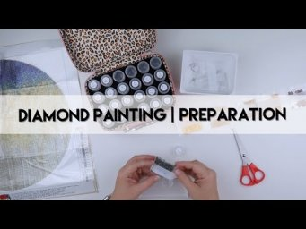 Diamond Painting - Preparation | Circle